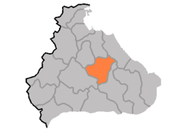 Location of Hoeyang County