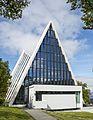 NOR-2016-Tromsø-Arctic Cathedral (Ishavskatedralen) 02 back.jpg
