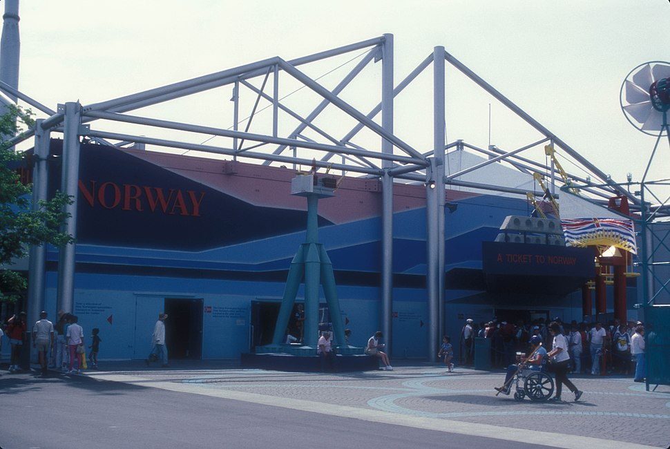 NORWEGIAN PAVILION AT EXPO 86, VANCOUVER, B.C.