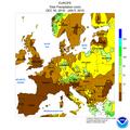 NWS-NOAA Europe Percentage of Normal Precipitation DEC 30, 2018 - JAN 5, 2019.png