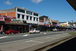 Taumarunui Town in Manawatū-Whanganui, New Zealand