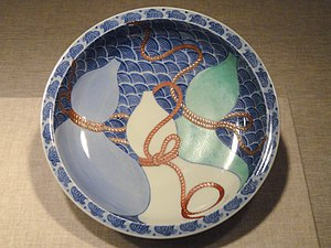 Nabeshima ware - Image: Nabeshima Ware Bowl, 18th century, Japan, porcelainwith enamel Art Institute of Chicago DSC00233