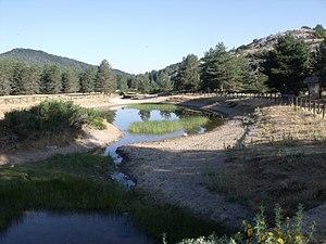 Montes Universales - Image: Nacimiento del río Tajo en Frías de Albarracín 01