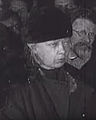 Nadezhda Krupskaya and Mikhail Kalinin at Lenin's funeral.jpg