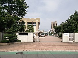 Nagoya City Seiryo High School 130623.JPG