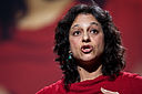 Nalini Nadkarni speaking at TED in 2009.jpg