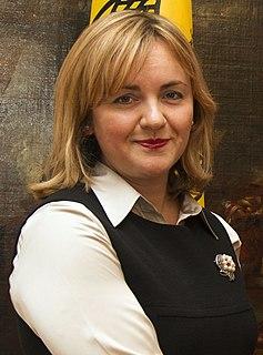 Natalia Gherman politician from Moldova