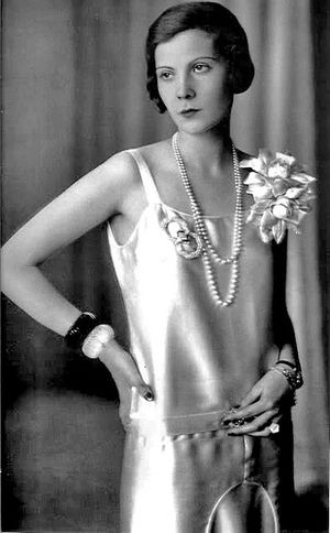Natalia Pavlovna Paley - Natalia Paley worked as a model during the late 1920s and early 1930s