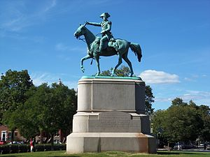 Major General Nathanael Greene (Brown) - Image: Nathanael Greene sculpture DC