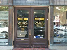 National Museum of Civil War Medicine entrance.JPG