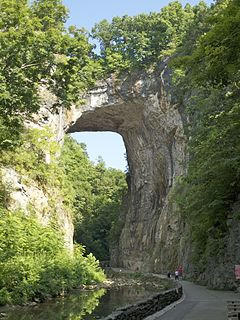 Natural Bridge (Virginia) United States historic place