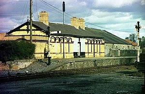 Navan railway station - Navan (GNR) station.
