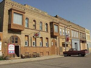 Neche, North Dakota - An old hotel in Neche