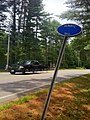 Nehantic Trail sign at CT State Route 49 Crossing.jpg
