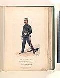 Nel secolo XIX. Esercito Messicano 1890, Ufficiale del Genio (NYPL b14896507-76704).jpg