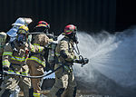 Nellis-Creech firefighters train with civilian counterparts 150327-F-JB386-451.jpg