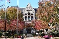 Nemaha County, Nebraska courthouse from E 2.JPG