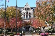 Nemaha County, Nebraska courthouse from E 2.JPG