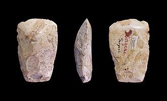 Sergeac - Image: Neolithique Sergeac Regnault MHNT.PRE.2009.0.192. 1