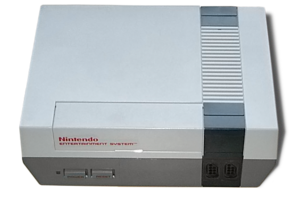 Picture of an US-American Nintendo Entertainme...