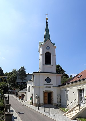 Neustift am Walde - The parish church in Neustift am Walde