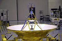 REX efter montering på New Horizons.