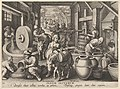 New Inventions of Modern Times -Nova Reperta-, The Invention of the Olive Oil Press, plate 12 MET DP830853.jpg