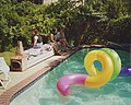 New Orleans Pool Party Bench Curley Faubourg St John.jpg