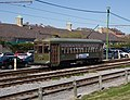 New Orleans streetcar Green Car 993 on Riverfront Line January 2008.jpg