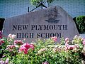 New Plymouth High School Sign.JPG