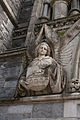 New Ross Church of St. Mary and St. Michael West Portal Sculptured Angel I 2012 09 04.jpg