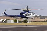 New South Wales Police Force (VH-PQZ) Bell 412EPI at Wagga Wagga Airport.jpg