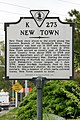 New Town (Historical Highway Marker K-273) (3445935451).jpg
