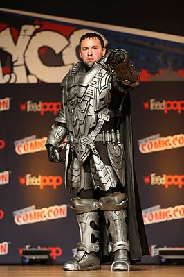 Cosplayer - General Zod tijdens New York Comic Con 2014.