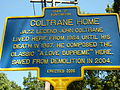 New York State Historic Marker of John Coltrane House.JPG