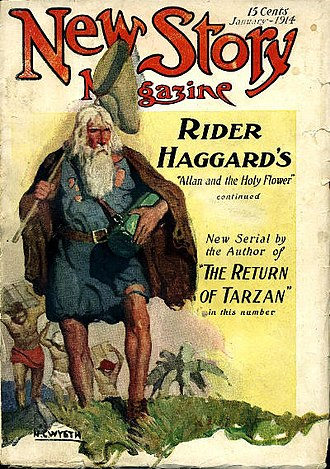Edgar Rice Burroughs bibliography - Image: New story 191401