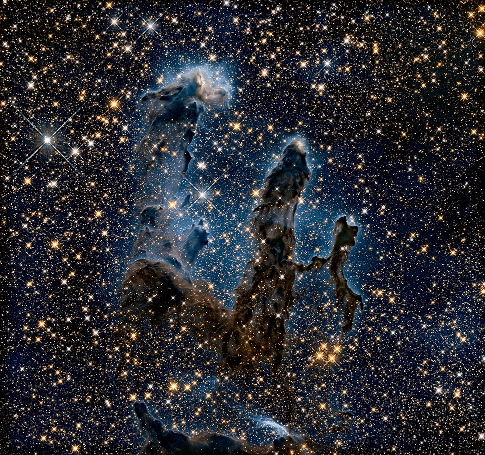 New view of the Pillars of Creation — infrared Heic1501b