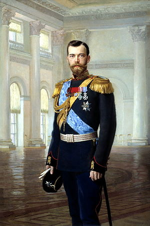 Russian Constitution of 1906 - Nicholas II, Emperor of Russia: 1894–1917. Portrait by Ernest Lipgart.