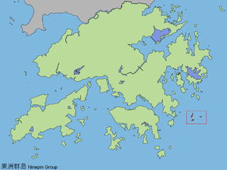 group of 29 small islands in Hong Kong