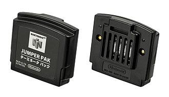 Nintendo 64 accessories - Jumper Pak