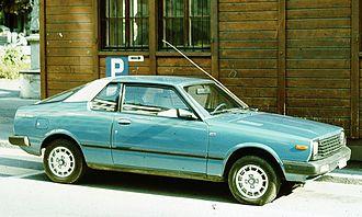 Nissan Pulsar - 1981–1982 Datsun Cherry coupé (Europe)
