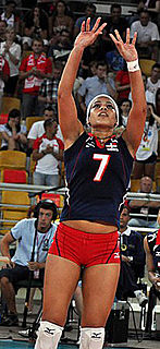 Niverka Marte female volleyball player from the Dominican Republic