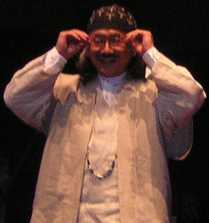 Nobuo Uematsu - Uematsu at a Distant Worlds concert on July 11, 2009 in Seattle