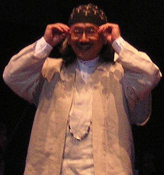 Nobuo Uematsu - Uematsu at a Distant Worlds concert on July 11, 2009 in Seattle