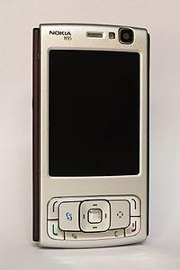 نوكيا ان 95 nokia n95 200px-Nokia_N95_Front_1