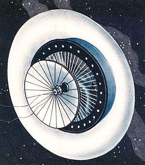 Herman Potočnik - The space station Wohnrad (Living Wheel)