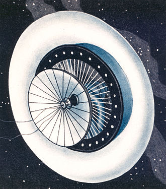 Herman Potočnik - The space station Wohnrad (Living Wheel)