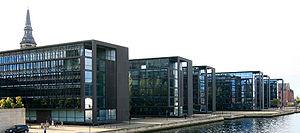 Nordea - The Danish headquarters of Nordea is located in Christianshavn, Copenhagen.