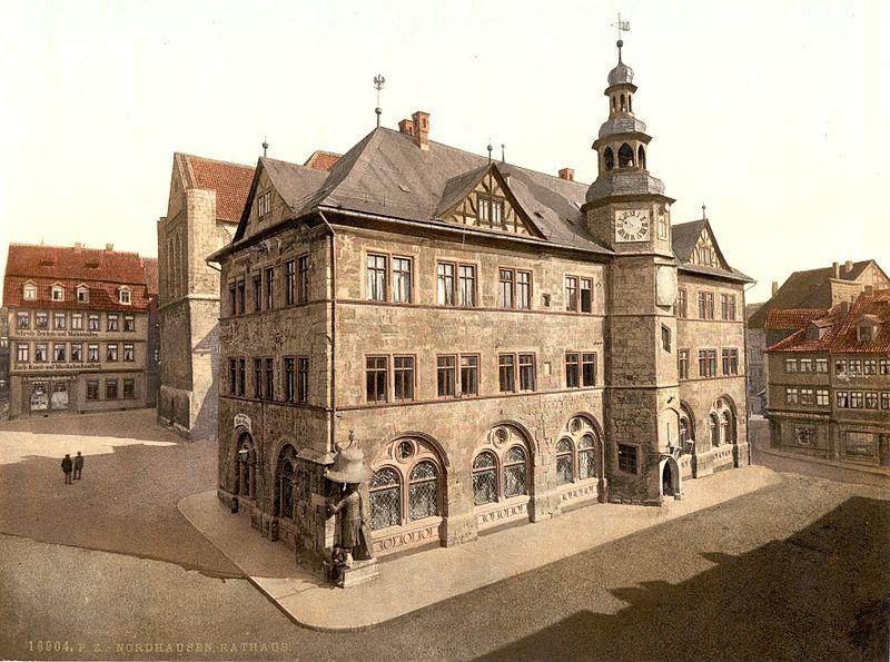 Datei:Nordhausen Rathaus 1900.jpg