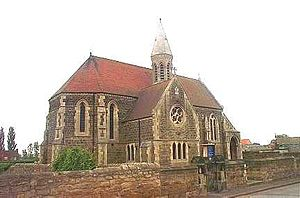 North Elmsall - St Margaret's, the Grade II listed church in North Elmsall